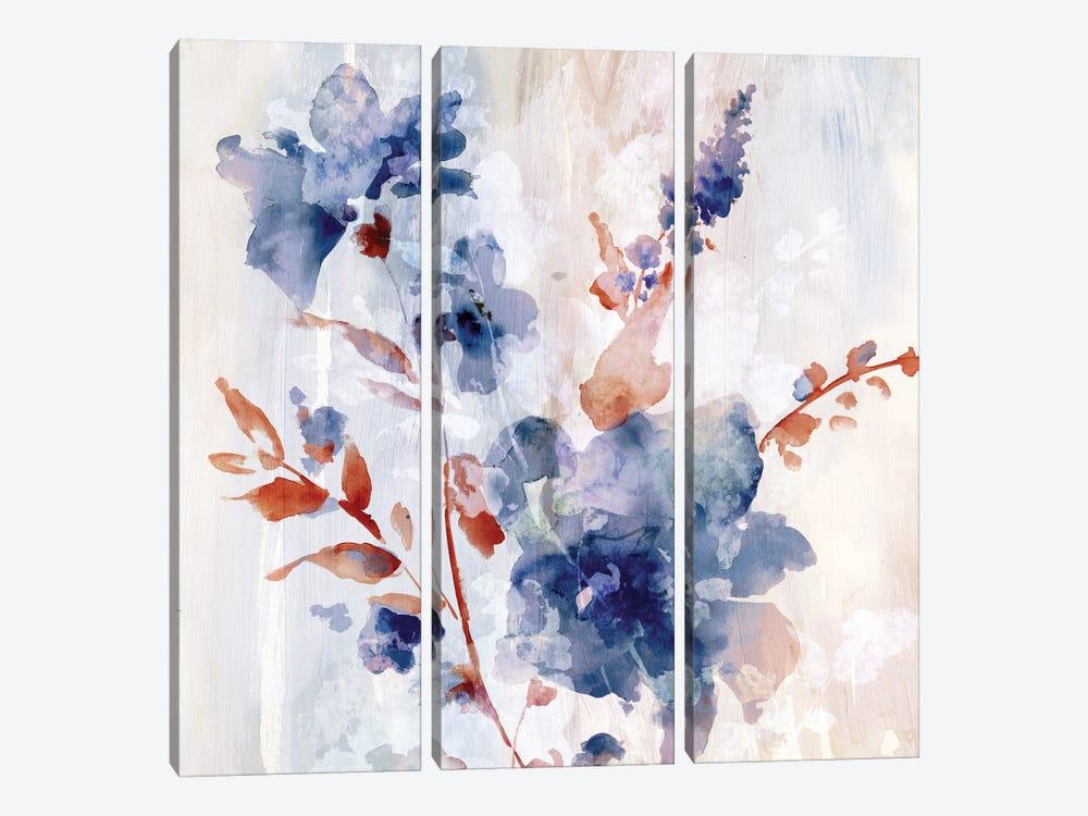 Flower Poetry II by Eva Watts 3-piece Art Print