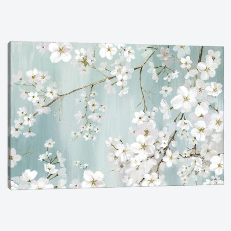 Flower Snow Canvas Print #EWA394} by Eva Watts Canvas Wall Art