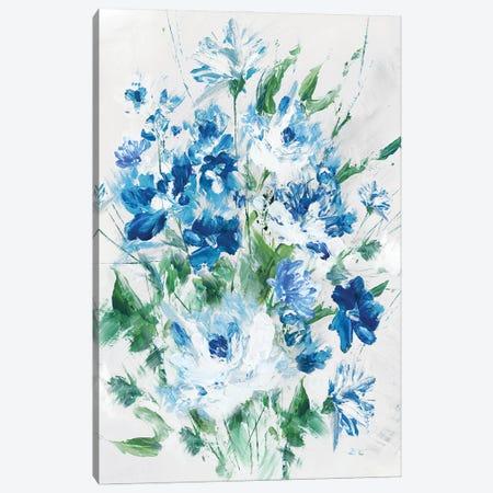 Fresh Blue Canvas Print #EWA395} by Eva Watts Canvas Wall Art