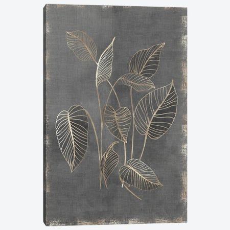 Gilded Botanical III Canvas Print #EWA399} by Eva Watts Canvas Print