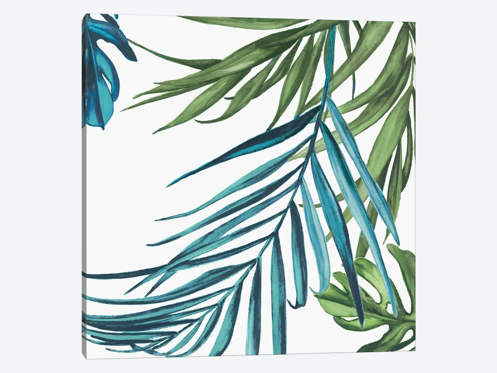 Palm Leaves III by Eva Watts 1-piece Canvas Art Print