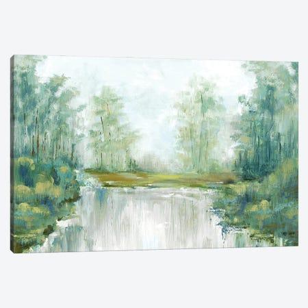 Jade Forest III Canvas Print #EWA405} by Eva Watts Canvas Art