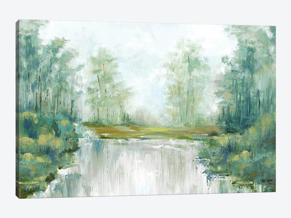 Jade Forest III by Eva Watts 1-piece Canvas Print