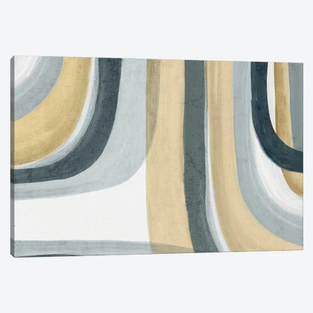 Neutral Movement I Canvas Print #EWA407} by Eva Watts Canvas Artwork