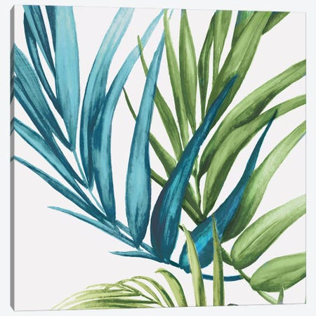 Palm Leaves IV Canvas Print #EWA40} by Eva Watts Canvas Wall Art