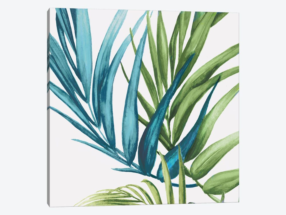 Palm Leaves IV by Eva Watts 1-piece Canvas Print