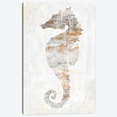 Rustic Seahorse Canvas Print #EWA413} by Eva Watts Canvas Artwork