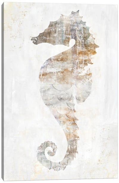 Rustic Seahorse Canvas Art Print