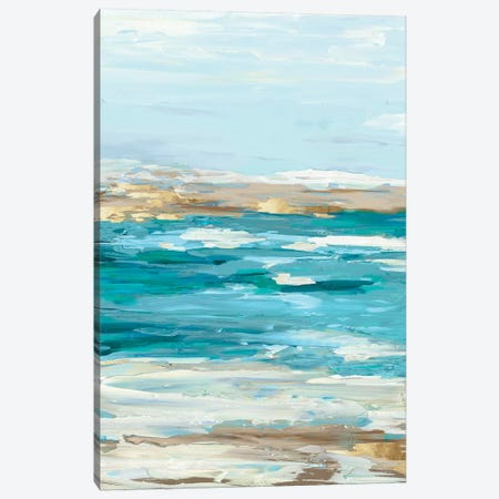 Sea Side I Canvas Print #EWA41} by Eva Watts Canvas Wall Art