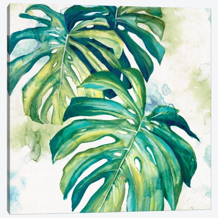 Summer Botanics I Canvas Print #EWA421} by Eva Watts Canvas Art Print