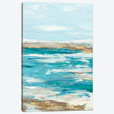 Sea Side II Canvas Print #EWA42} by Eva Watts Canvas Art