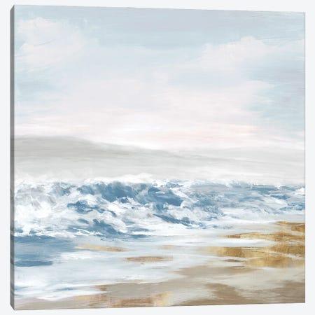 West Coast Waves Canvas Print #EWA434} by Eva Watts Canvas Print