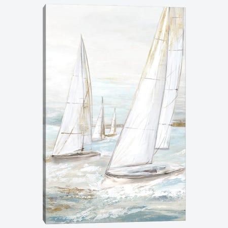 Windswept Sails II Canvas Print #EWA436} by Eva Watts Canvas Art Print