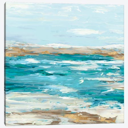 Sea Side III Canvas Print #EWA43} by Eva Watts Canvas Art