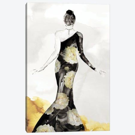 Blossomy Fashion I Canvas Print #EWA444} by Eva Watts Canvas Art
