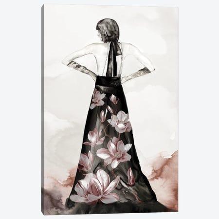 Blossomy Fashion II Canvas Print #EWA445} by Eva Watts Canvas Artwork