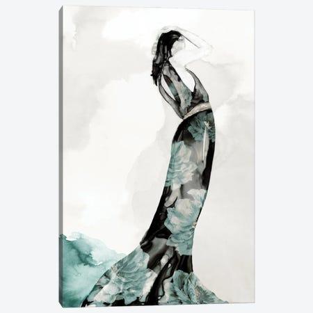 Blossomy Fashion III Canvas Print #EWA446} by Eva Watts Canvas Wall Art