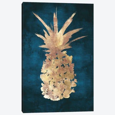 Golden Night Pineapple Canvas Print #EWA469} by Eva Watts Canvas Print