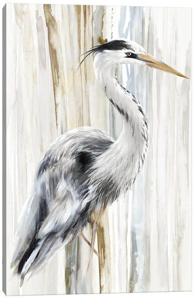 River Heron I Canvas Art Print
