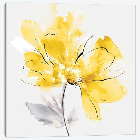 Tender Love I Yellow Version Canvas Print #EWA493} by Eva Watts Canvas Art