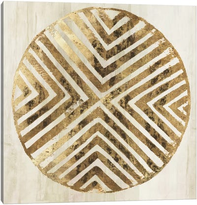 African Lines II Canvas Art Print