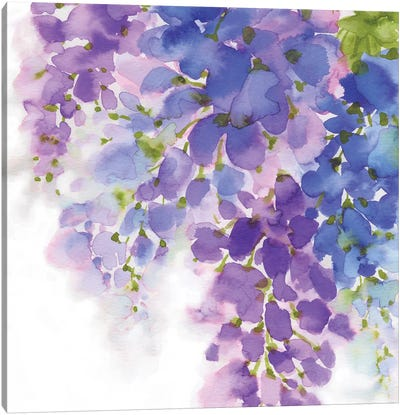 Wisteria I Canvas Art Print