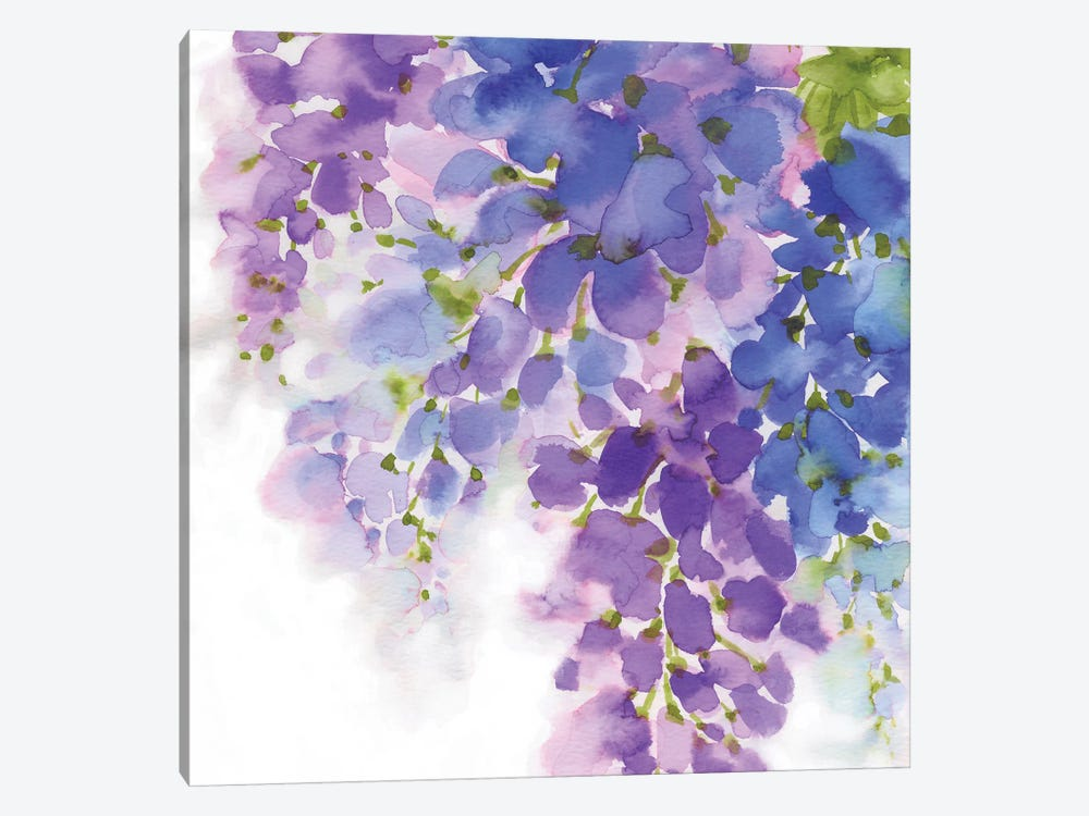 Wisteria I by Eva Watts 1-piece Canvas Art