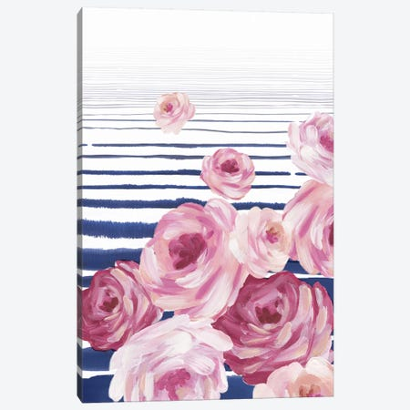 Beyond Floral Canvas Print #EWA56} by Eva Watts Canvas Art