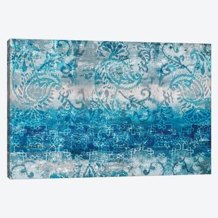Blue Abstract Elegance II Canvas Print #EWA58} by Eva Watts Canvas Print