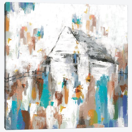 House In The Midst Canvas Print #EWA66} by Eva Watts Canvas Art Print