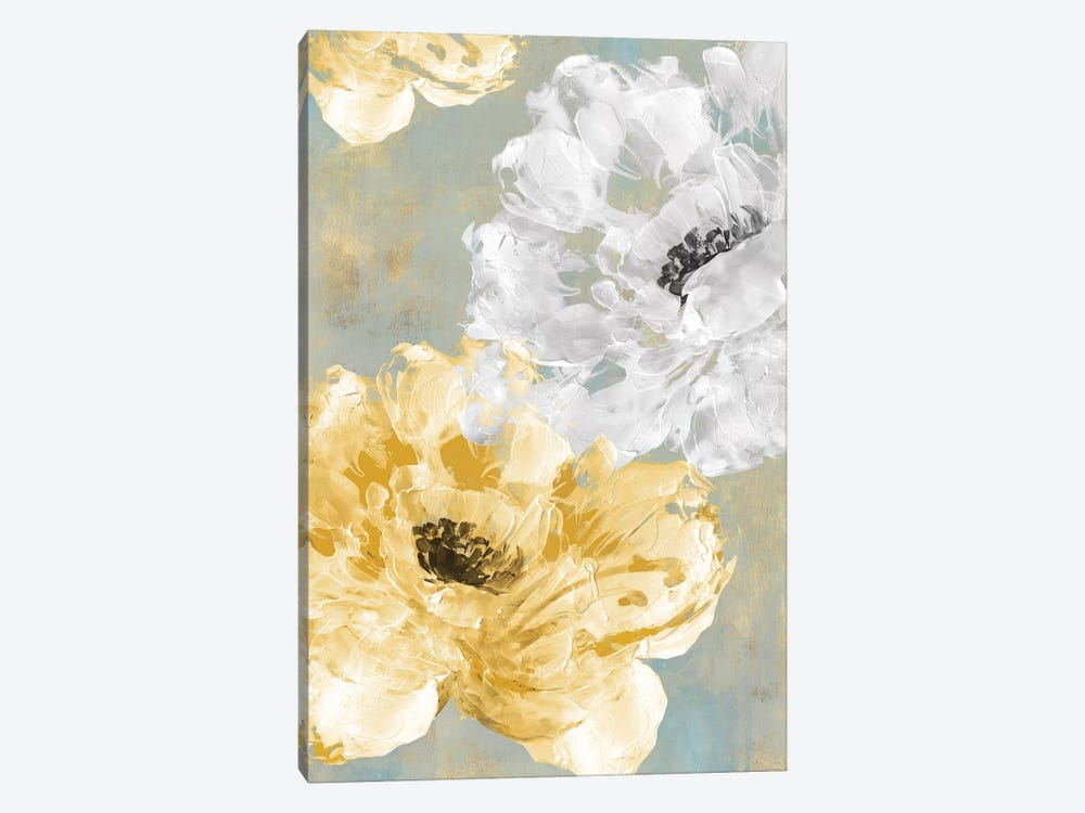 Neutral Contrast I by Eva Watts 1-piece Canvas Print