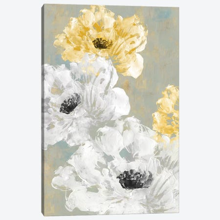 Neutral Contrast II Canvas Print #EWA72} by Eva Watts Art Print