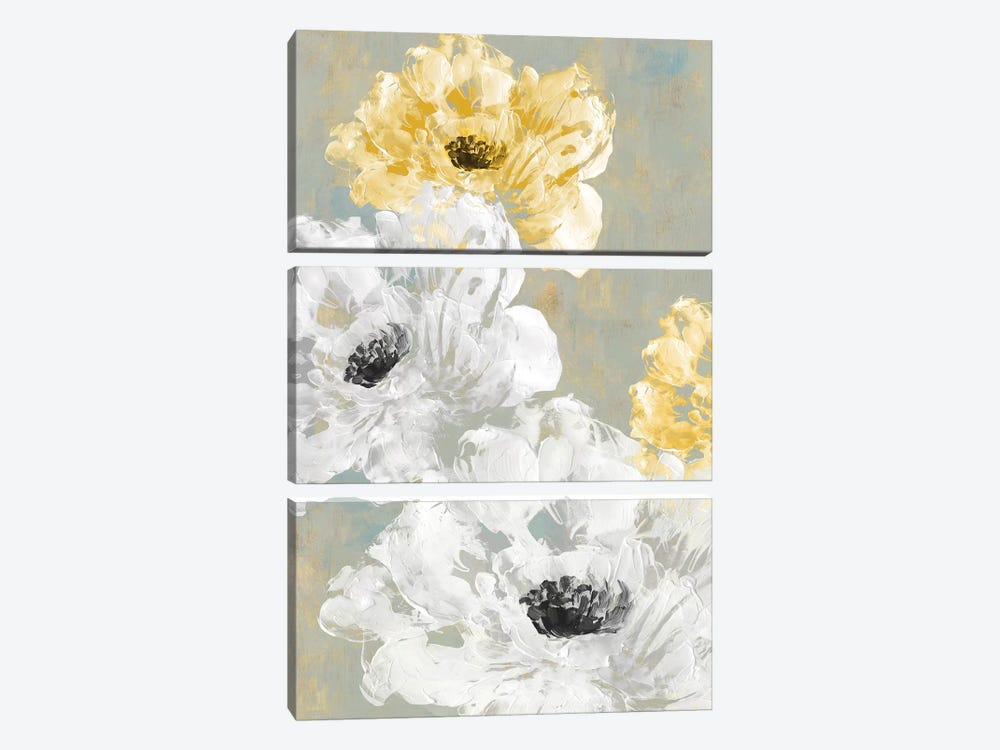Neutral Contrast II by Eva Watts 3-piece Canvas Art
