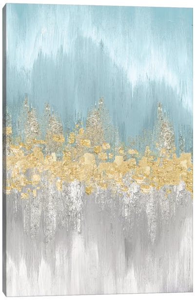 Neutral Wave Lengths I Canvas Art Print