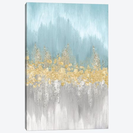 Neutral Wave Lengths I 3-Piece Canvas #EWA73} by Eva Watts Canvas Print