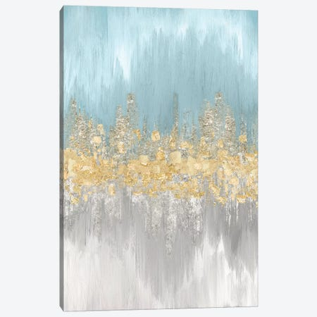 Neutral Wave Lengths II Canvas Print #EWA74} by Eva Watts Canvas Wall Art