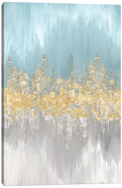 Neutral Wave Lengths II Canvas Art Print