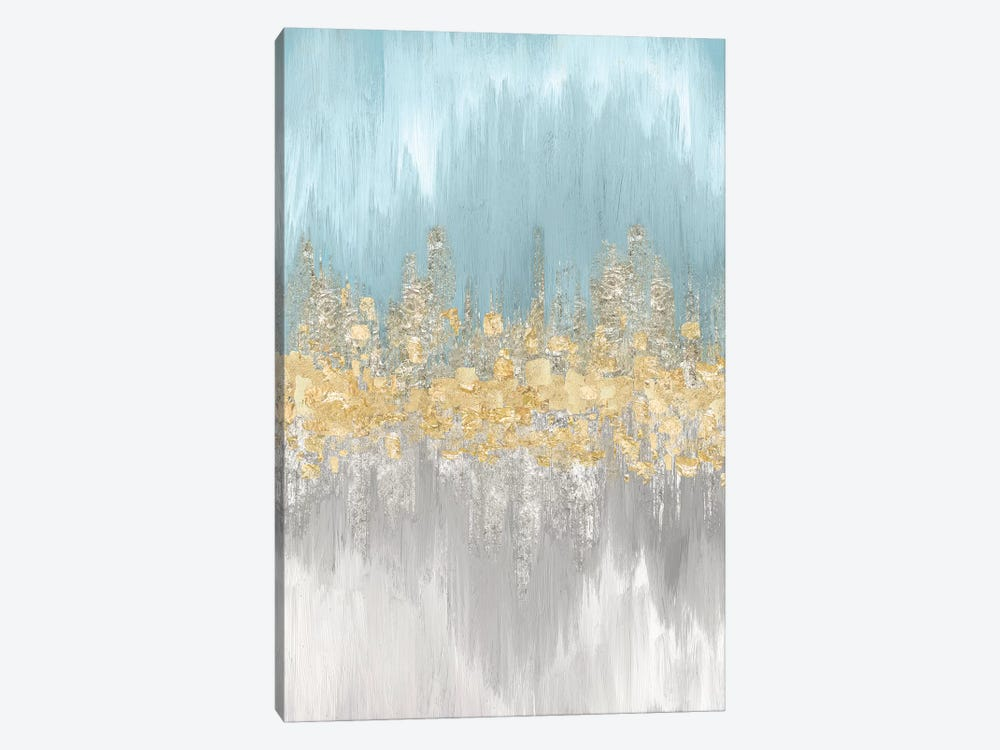 Neutral Wave Lengths II 1-piece Canvas Artwork