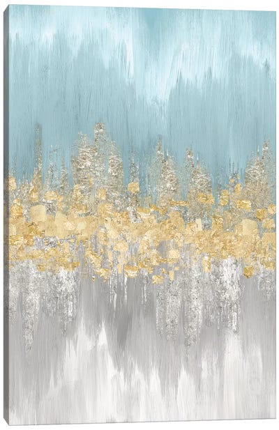 Neutral Wave Lengths III Canvas Art Print