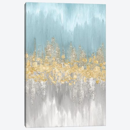 Neutral Wave Lengths III Canvas Print #EWA75} by Eva Watts Canvas Wall Art