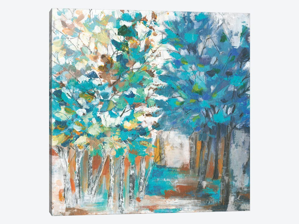 Pathway Of Blue by Eva Watts 1-piece Canvas Wall Art