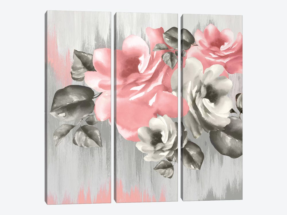 Pink Potion by Eva Watts 3-piece Canvas Print