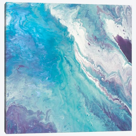 Water From Above II Canvas Print #EWA82} by Eva Watts Canvas Wall Art