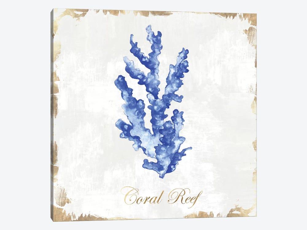 Blue Sea Coral  by Eva Watts 1-piece Art Print