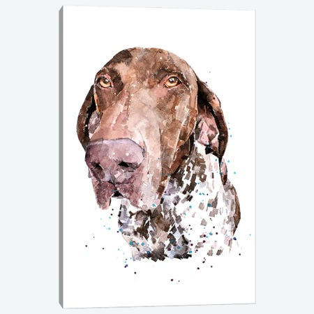 GSP I Canvas Print #EWC106} by EdsWatercolours Canvas Artwork