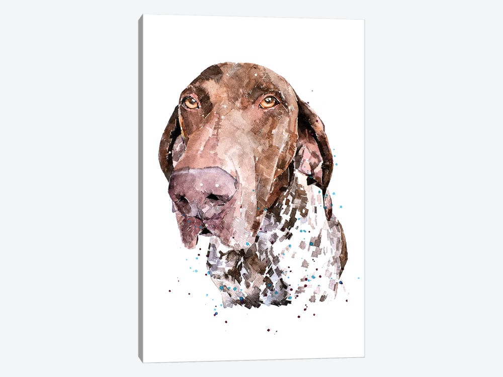 GSP I by EdsWatercolours 1-piece Canvas Wall Art