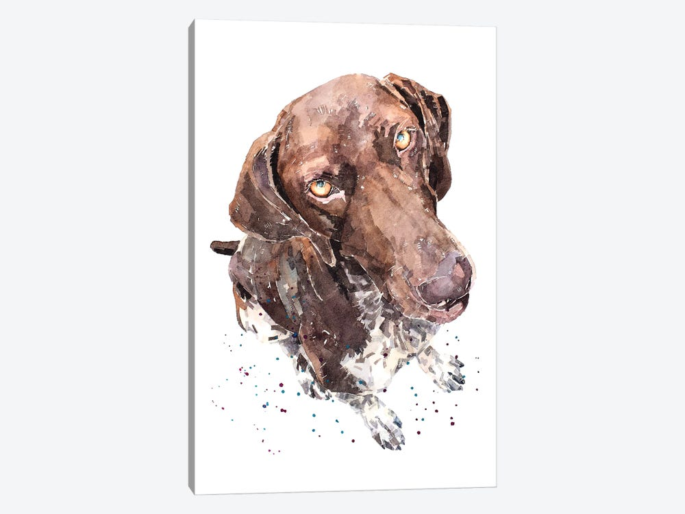 GSP II by EdsWatercolours 1-piece Canvas Print