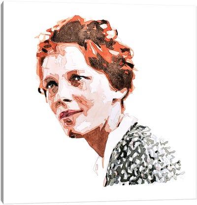 Amelia Earhart Canvas Art Print