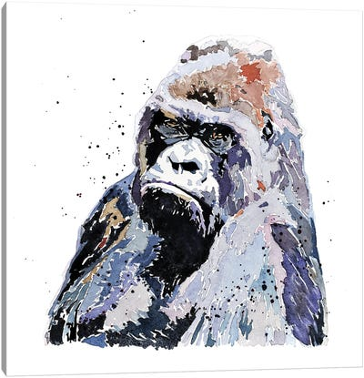 Big Boy Gorilla Canvas Art Print