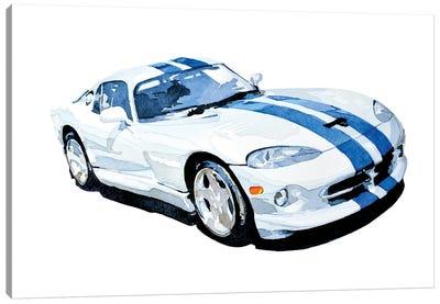 Car Canvas Art Print